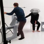 photo tournage diamenteurs de chloé mazlo